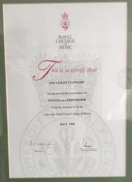 Ann Clewlow Certificate 2