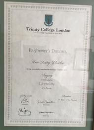 Ann Clewlow Diploma