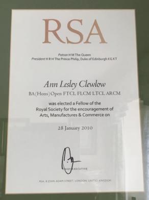 Ann Clewlow Fellowship